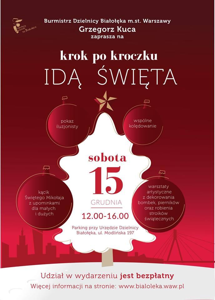 Więcej o: Jarmark świąteczny na Białołęce